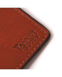Tanner Goods - Brown Utility Bifold Wallet - Chicago for Men - Lyst