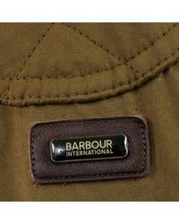 Barbour Green Lockseam Dark Sand Jacket for men