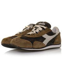 Diadora | Multicolor Heritage Equipe S Sw Coffee White Shoe for Men | Lyst
