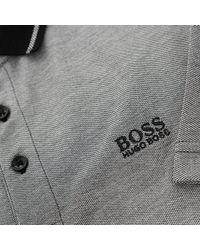 BOSS Green - Hugo Boss C-prato 1 Black Polo Shirt for Men - Lyst