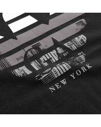 Armani Jeans - Armani Crew Neck Black T-shirt for Men - Lyst