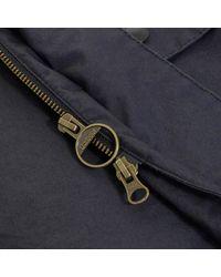 Barbour Blue Washed Bedale Dark Navy Jacket for men