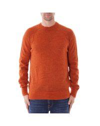 Wax London Orange Alp Knitted Jumper for men