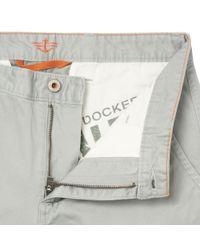 Dockers Gray Light Grey Slim Chinos for men