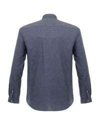 Oliver Spencer - Blue Clerkenwell Tab Picton Navy Shirt for Men - Lyst