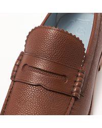 GRENSON Ashley Dark Brown Loafer Shoe for men