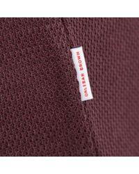 Orlebar Brown - Purple Emerson Bordeaux Polo Shirt for Men - Lyst