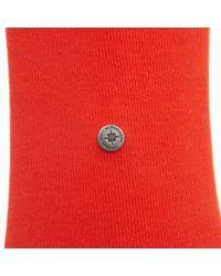 Burlington Socks | Burlington Lord Short Socks Orange for Men | Lyst
