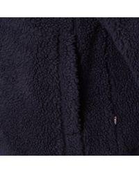 Napapijri - Dark Blue Teide Fleece for Men - Lyst