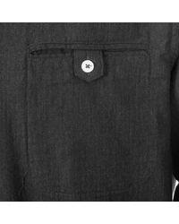 Matíníque Gray Medium Grey Trostol R Flannel Shirt 30202314 for men