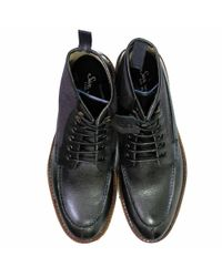 Oliver Sweeney Bulmer Black Leather Boot for men