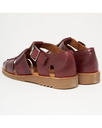 Paraboot Multicolor Pacific Sport Sandals - Wine for men