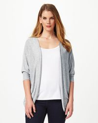 Studio Eight - Gray Rosalyn Cover Up - Lyst