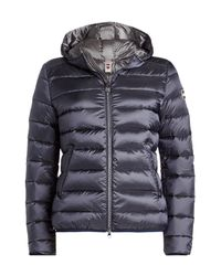Colmar - Black Quilted Down Jacket With Hood - Lyst