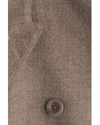 Rick Owens - Multicolor Wool Blend Coat With Capped Sleeves - Lyst