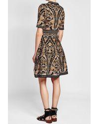 M Missoni - Black Intarsia Dress - Lyst