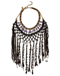 Erickson Beamon | Metallic Chinoiserie Necklace | Lyst