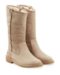 Ugg - Multicolor Daphne Sheepskin Boots - Lyst