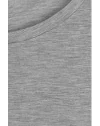Rag & Bone - Gray Jersey T-shirt - Lyst