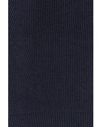 DKNY - Blue Pullover With Wool - Lyst