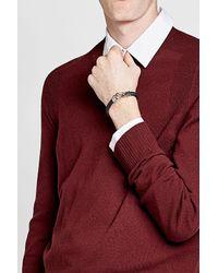 Tod's - Blue Leather Bracelet for Men - Lyst
