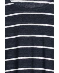 Steffen Schraut - Black Baja Striped Top - Stripes - Lyst