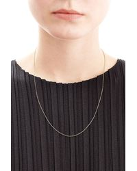 Aurelie Bidermann | 18kt Yellow Gold Chain Necklace | Lyst