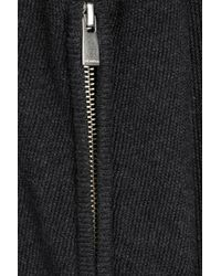 The Kooples - Black Wool-cotton Blend Cardigan With Hood for Men - Lyst