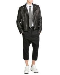 Etro | Black Woven Silk Tie for Men | Lyst