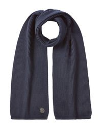 DSquared² | Blue Wool Scarf for Men | Lyst