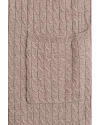 Max Mara - Brown Wool-cashmere Cardigan - Lyst