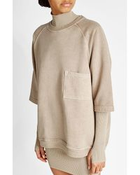 Yeezy | Natural Oversize Cotton Top | Lyst