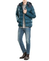 Michael Kors | Multicolor Quilted Down Jacket With Hood for Men | Lyst