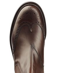 Church's - Brown Leather Ankle Boots for Men - Lyst