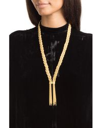 Aurelie Bidermann | Metallic Miki 18kt Yellow Gold-plated Necklace | Lyst