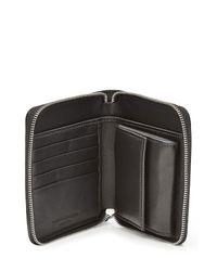 Alexander McQueen - Black Printed Wallet for Men - Lyst