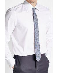Etro   Blue Woven Silk Tie for Men   Lyst