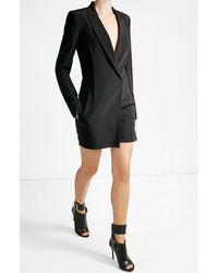 DKNY | Black Blazer-style Jumpsuit | Lyst