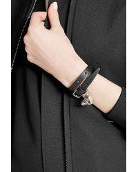Alexander McQueen - Multicolor Leather Wrap Bracelet - Lyst