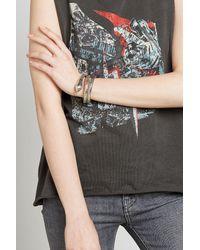 Gas Bijoux - Metallic Silver Plated Bracelet - Lyst