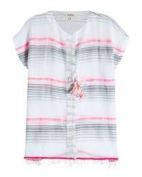 Lemlem - Multicolor Striped Cotton Tunic Top - Lyst