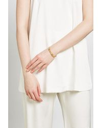 Marc Jacobs | Metallic Bangle With Cut-out Detail | Lyst