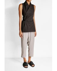 Rick Owens | Multicolor Harem Pants With Silk | Lyst