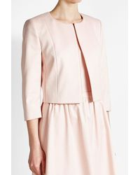 HUGO | Pink Jacket With Cotton | Lyst