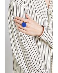 Etro - Blue Cocktail Ring - Lyst