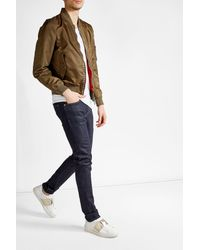 Valentino | Multicolor Studded Bomber Jacket for Men | Lyst