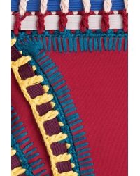 KIINI - Multicolor Bikini Bottom With Crochet Detail - Lyst