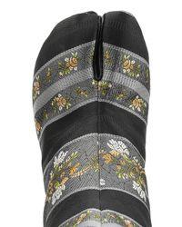 Maison Margiela | Multicolor Jacquard Ankle Boots | Lyst