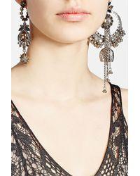 Alexander McQueen | Multicolor Jeweled Duo Earring Set | Lyst