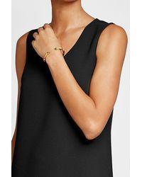 Gas Bijoux | Multicolor Sari Bangle Bracelet With Leather | Lyst